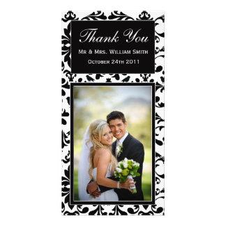 Wedding danken Ihnen zu kardieren Individuelle Fotokarten