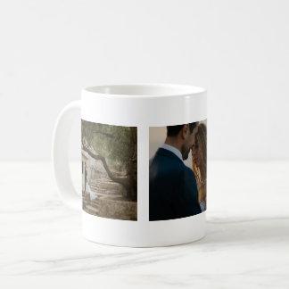 Wedding drei Foto-Paare besonders angefertigt Tasse