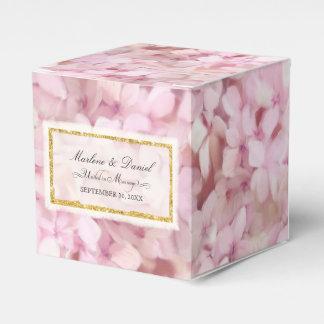 Wedding hübscher rosa geschenkschachtel