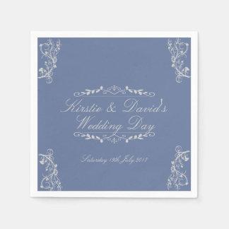 Wedding Papierservietten mit verzierten