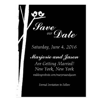 Wedding Save the Date Postkarte