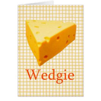 Wedgie Karte