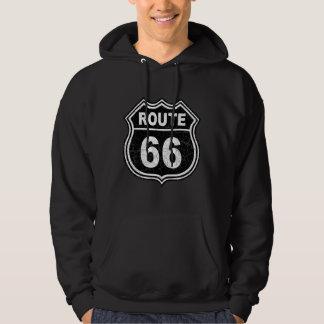 Weg 66 beunruhigt hoodie