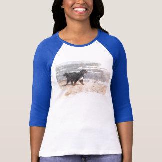 Weg auf dem Strand T-Shirt