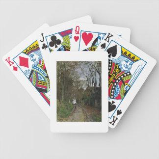 Weg Claude Monets | in Normandie Bicycle Spielkarten