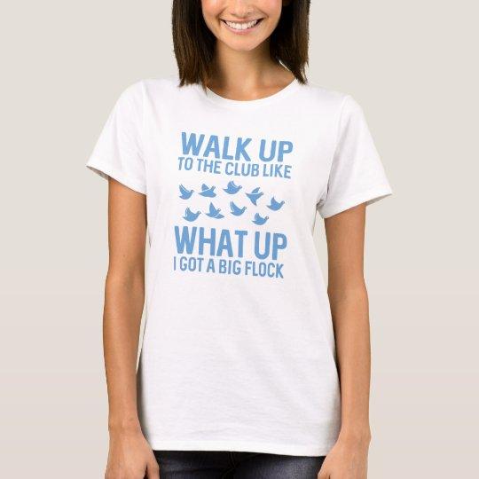 Weg oben zum Verein T-Shirt