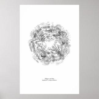 Weg vom Personal: Allegrobetrug-Lebendigkeit Poster