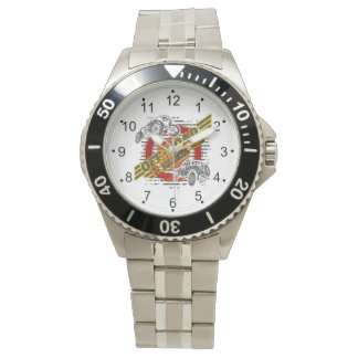 Weg vom Straßen-Junkien 4x4 Armbanduhr