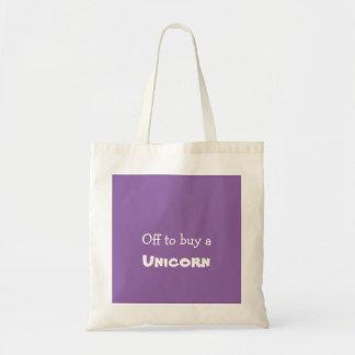 Weg von eine Karte Unicorn-Tasche kaufen Tragetasche