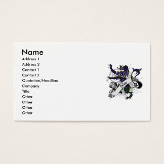 Wehrtartan-Löwe Visitenkarte