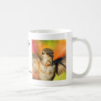 Weiblichen Allens Kolibri-Tasse Kaffeetasse