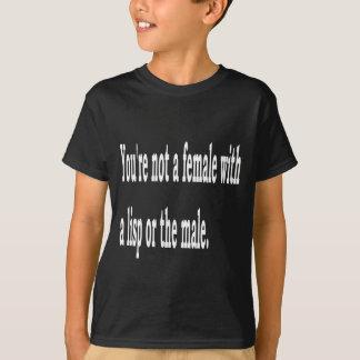 Weiblicher Lisp, 2b T-Shirt
