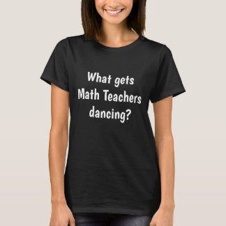 Weiblicher Logarithmus-Wortspiel-Slogan des T-Shirt