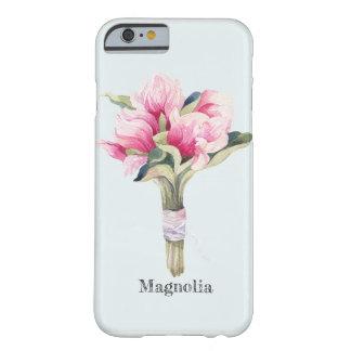 Weiblicher Magnolien-Blumenstrauß Barely There iPhone 6 Hülle