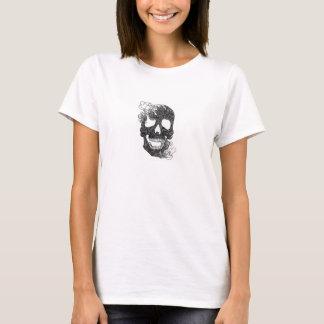 Weibliches Hemd Mit Totenkopf T-Shirt