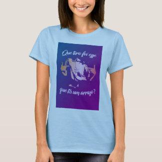 Weibliches Unterhemd, DAS SCHUSS DIES war? T-Shirt