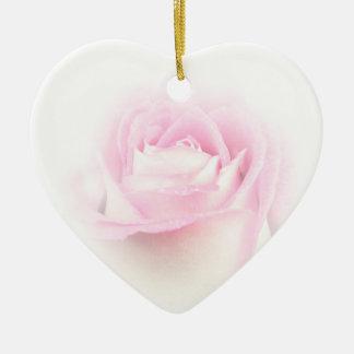 Weich Rosa Keramik Herz-Ornament