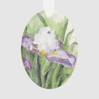 Weiche Aquarell-Iris