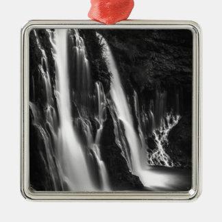 Weiche und glatte Burney Fälle Silbernes Ornament