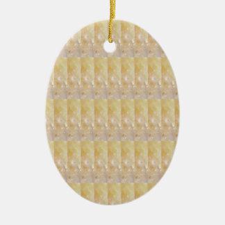 Weiches goldenes KRISTALLmuster Billig-GESCHENKE Keramik Ornament