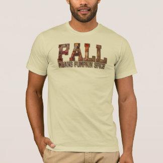 """Weiches T-Shirt """"Fall bedeutet Kürbis-Gewürz """""""