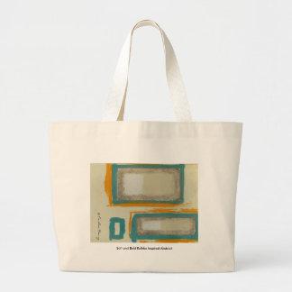 Weiches und mutiges Rothko inspiriertes abstraktes Jumbo Stoffbeutel