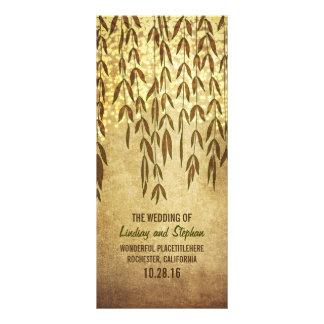 Weide-Baumast-rustikale Lichter, die Programm