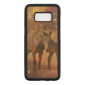 Weiden lassende Western-Pferde Carved Samsung Galaxy S8 Hülle