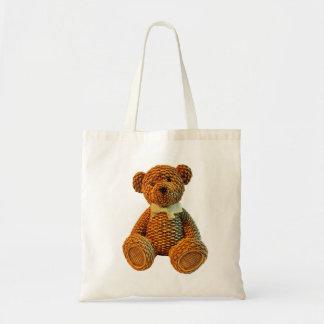 Weidenbrown-Teddybär Tragetasche