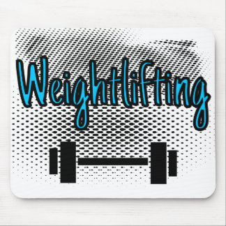 Weightlifting-Bar Mauspads