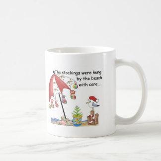 Weihnachten am Strand Tasse