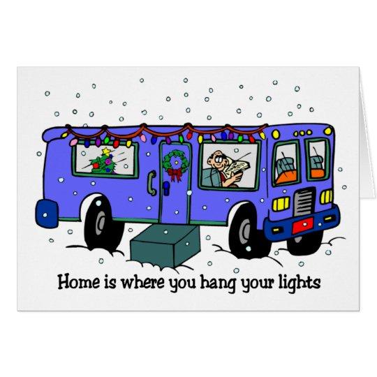 Weihnachten auf den Straßenkarten Karte