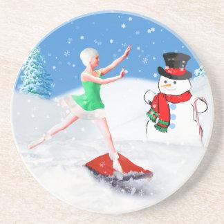 Weihnachten, Ballett-Tänzer, Untersetzer