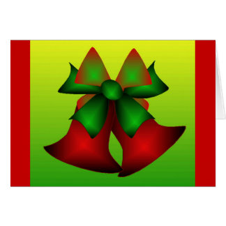 Weihnachten Bell Grußkarte