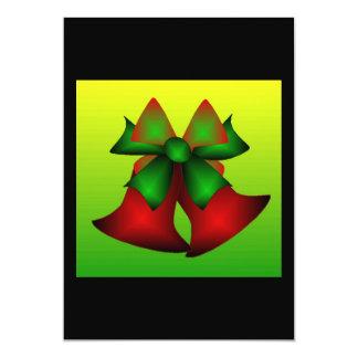 Weihnachten Bell Individuelle Einladungen