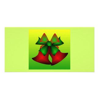 Weihnachten Bell V Photokarten