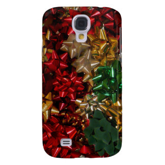 Weihnachten beugt bunten festlichen Feiertag Galaxy S4 Hülle
