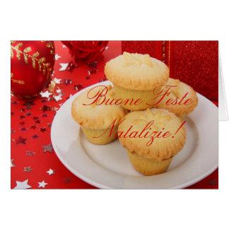 Weihnachten Buone Feste Natalizie II Grußkarte