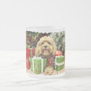 Weihnachten - Cockapoo - Wriggley Mattglastasse