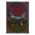 Weihnachten eins, Stechpalmen-König Oak König 002 Karten