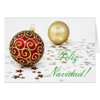 Weihnachten Feliz Navidad I Grußkarte