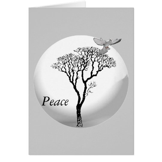 Weihnachten - Frieden des Weihnachtens Grußkarte