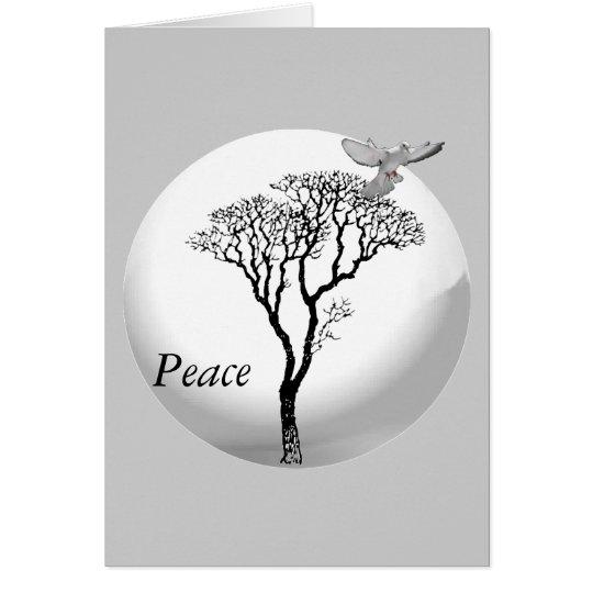 Weihnachten - Frieden des Weihnachtens Karte
