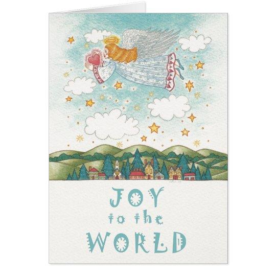 Weihnachten~ Friedensengels-Gruß-Karten Grußkarte