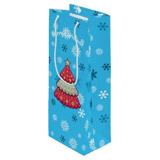 Weihnachten Geschenktüte Für Weinflaschen