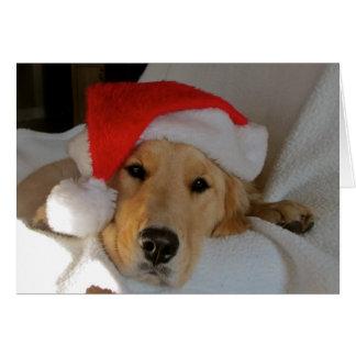 Weihnachten golden grußkarte