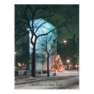 Weihnachten in New York (Rabatt auf mehrfachen Postkarte