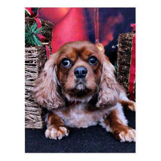 Weihnachten - Kavalier - Fassbinder Postkarte