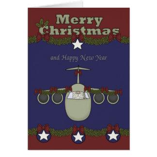 Weihnachten, Luftwaffen-Gruß-Karte Karte