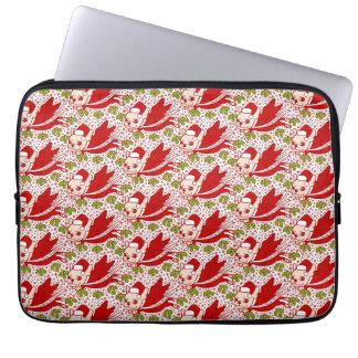 Weihnachten mit einem Frenchie Laptop Sleeve